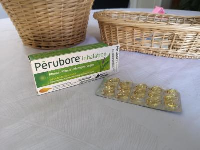 pérubore, inhalation rat